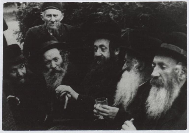 Żydowscy kuracjusze w Iwoniczu-Zdroju, 1938