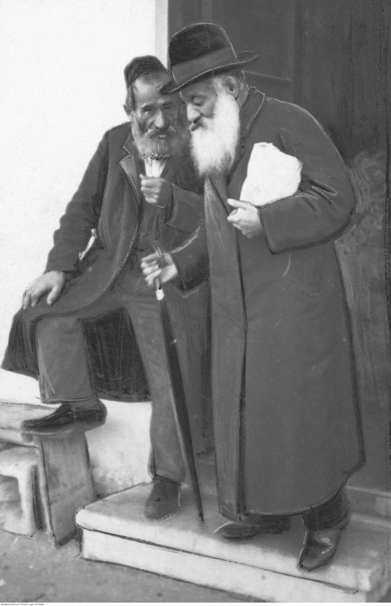 Dwóch Żydów. NAC
