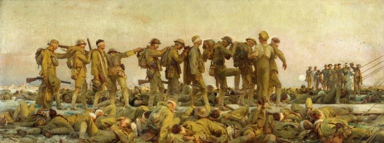 Sargent John Singer: Gassed. 1919
