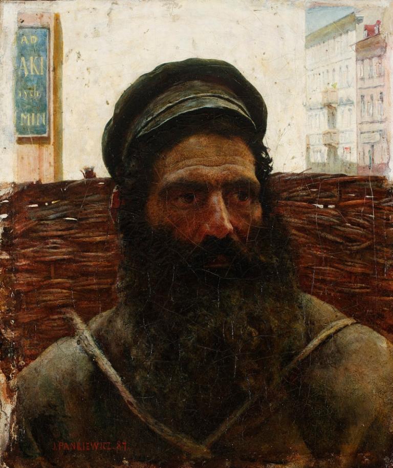 Józef Pankiewicz: Żyd z koszem