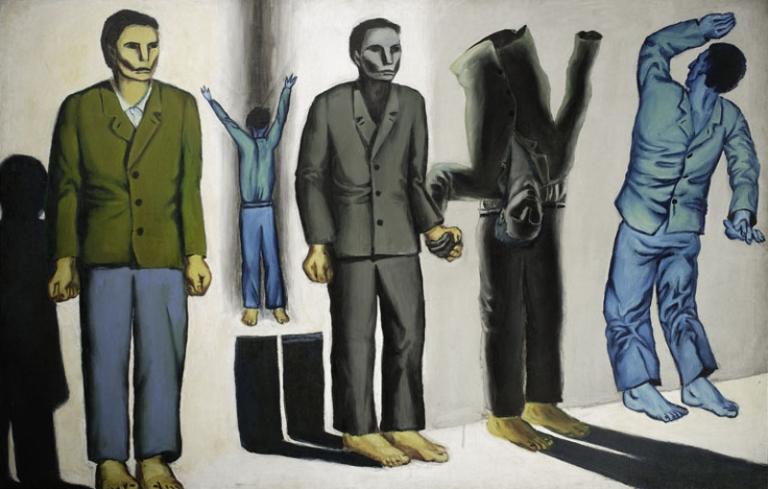 Andrzej Wróblewski: Rozstrzelanie surrealistyczne. 1949