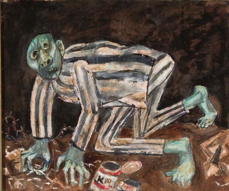 Piotr Mleczko: Pusta puszka. 1959