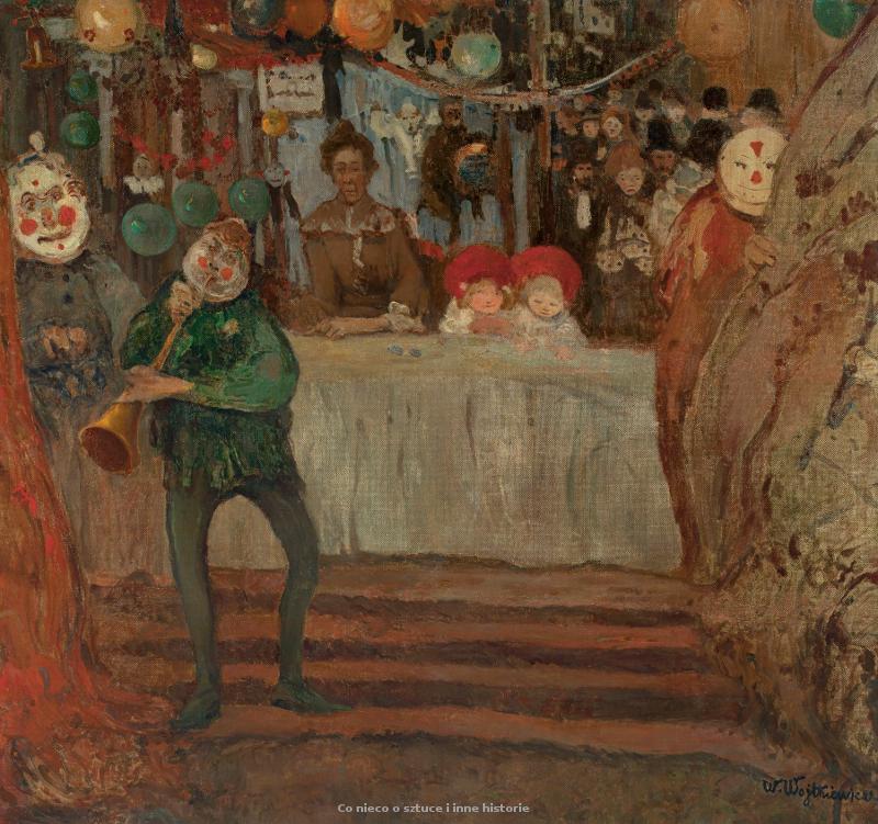 Agenda : Ca s'est passé en juin ! Witold-wojtkiewicz-cyrk-przed-teatrzykiem.-1907.-olej-na-plotnie.-995-x-1055-cm.-muzeum-narodowe-w-warszawie_coniecoosztuce