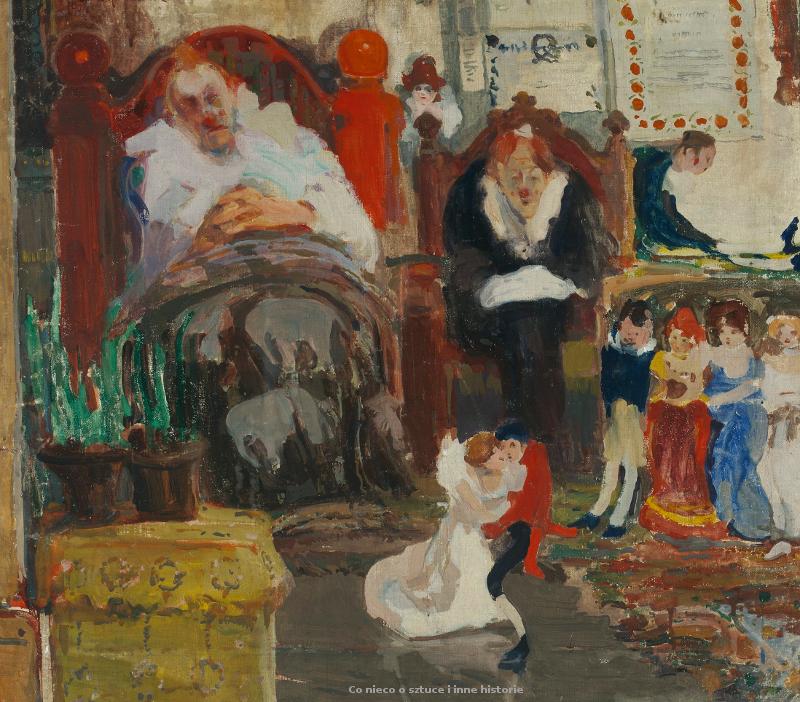 Agenda : Ca s'est passé en juin ! Witold-wojtkiewicz-marionetki.-1907.-olej-na-plotnie.-71-x-80.5-cm.-muzeum-narodowe-w-warszawie_coniecoosztuce